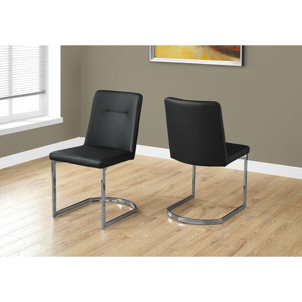 Darcelle Upholstered Dining Chair (Set of 2) by Latitude Run