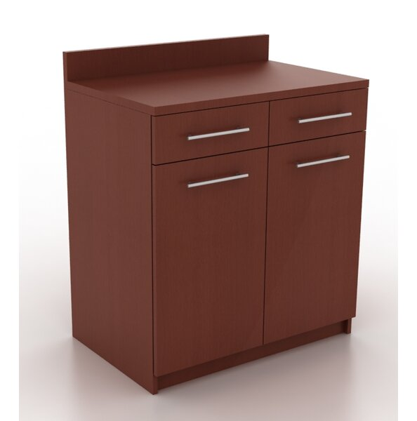 Modern Breakroom Storage Cabinet by HPL Contract