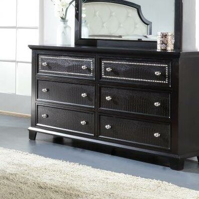 Kay 6 Drawer Double Dresser by Rosdorf Park