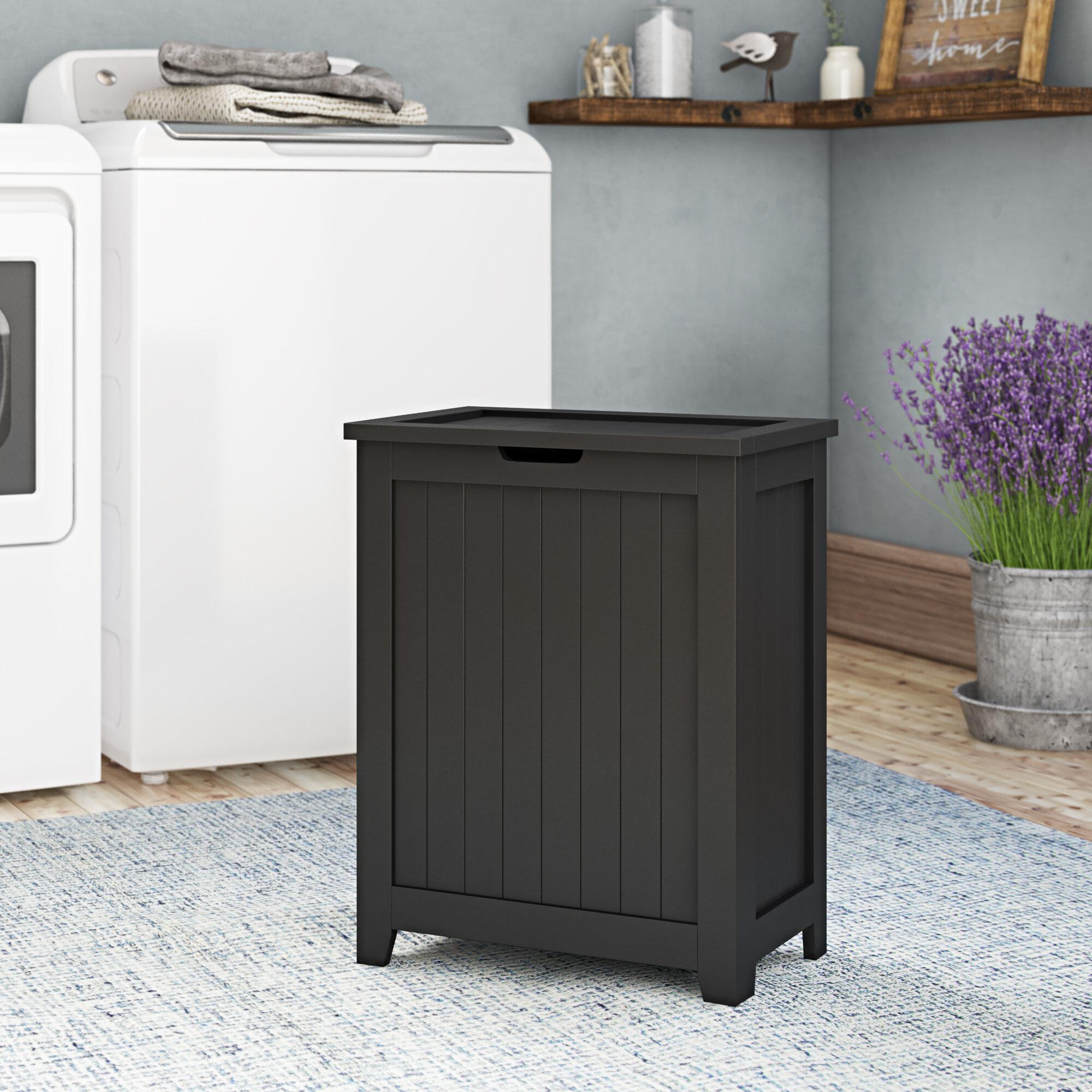 3 Liner 135L Laundry Cloth Hamper Sorter Basket Bin Foldable 3 Sections with Aluminum Frame 26/×24H Washing Storage Dirty Clothes Bag for Bathroom Bedroom Home