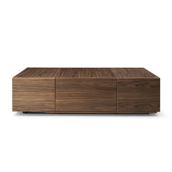 Hutchins Coffee Table with Storage by Brayden Studio Brayden Studio