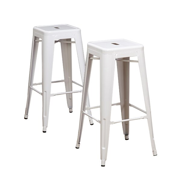 Padgett 30 Bar Stool (Set of 2) by Beachcrest Home