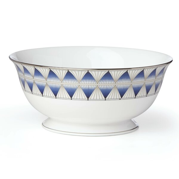 Geodesia Serving Bowl by Lenox