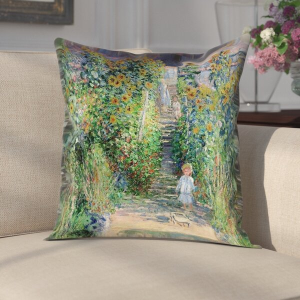 Gertrud Flower Garden Pillow Cover by Darby Home Co