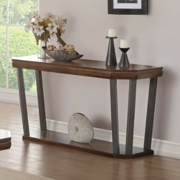 Buchholz Octagon Shaped Console Table by Williston Forge
