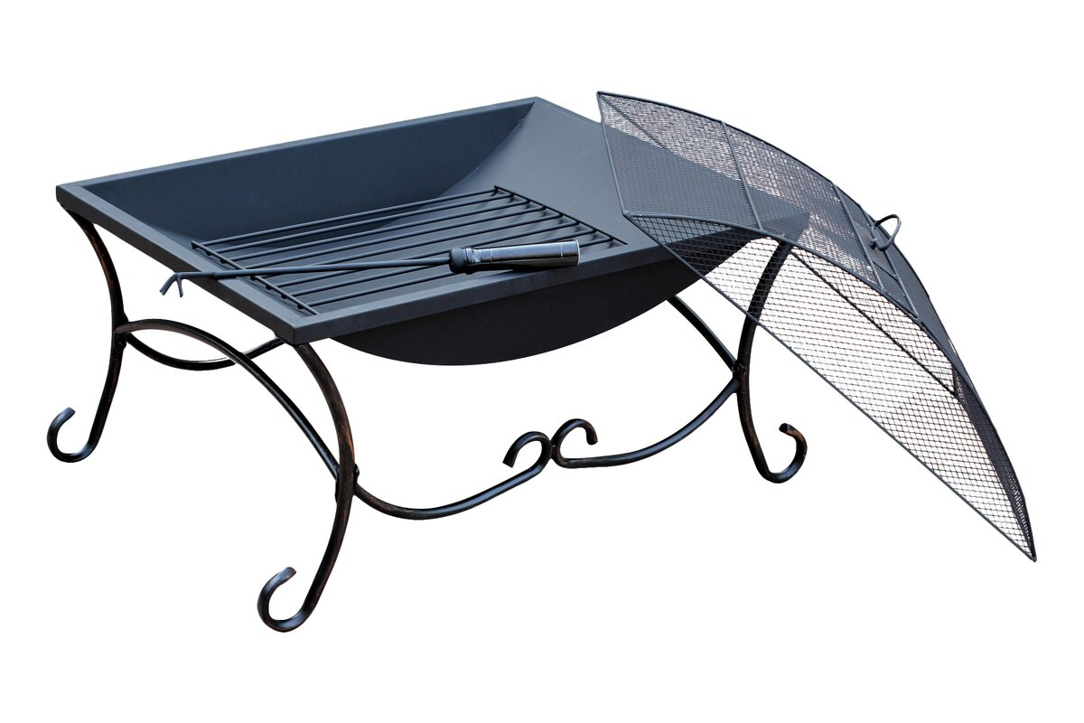 Jeco Inc. Steel Wood Burning Fire Pit & Reviews