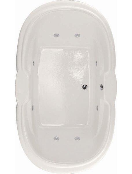 Designer Yvette 72 x 42 Soaking Bathtub by Hydro Systems