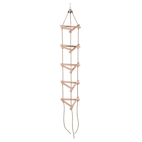 9.2 5 Steps Triangle Climbing Rope Ladder by Swingan