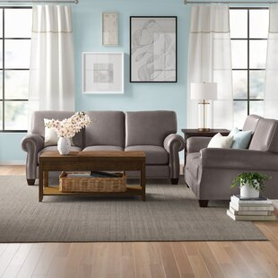 Whipton Genuine Leather Living Room Set by Three Posts™