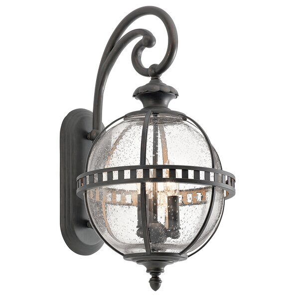 Churchton 3-Light Outdoor Wall Lantern by Gracie Oaks