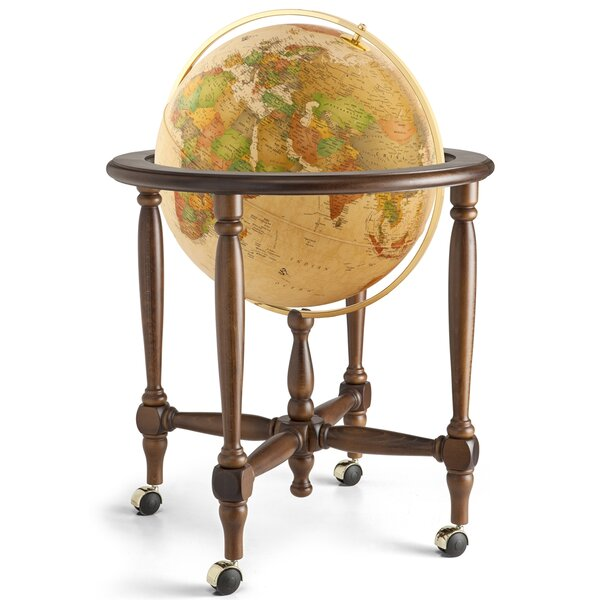 Traditional Illuminated Globe by Darby Home Co