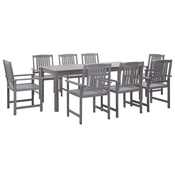 Wahcheechee Outdoor 9 Piece Dining Set by Gracie Oaks