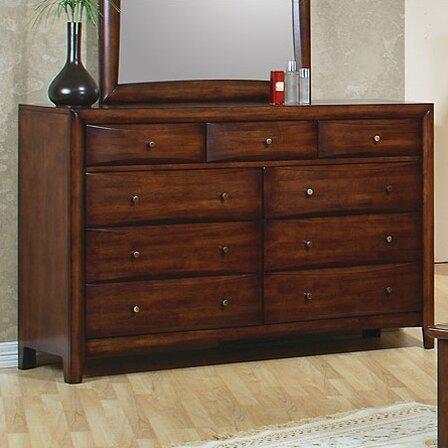 Bradshaw 9 Drawer Double Dresser by Longshore Tides