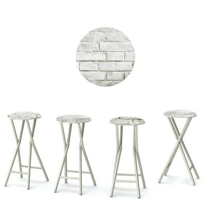 Cinderblock 30'' Patio Bar Stool (Set of 4) by Best of Times