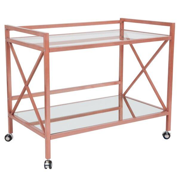 Lanier Bar Cart by Mercer41 Mercer41