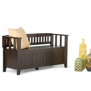 Acadian Two Seat Storage Bench by Simpli Home
