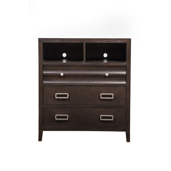 Arnot 3 Drawer Media Chest by Darby Home Co