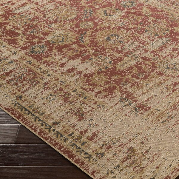 Cerys Neutral Traditional Brown Area Rug by Bloomsbury Market