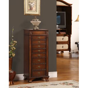 Asher 8 Drawer Jewelry Armoire by Astoria Grand