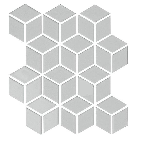 Shape 2 x 2 Porcelain Mosaic Tile in Gray by Emser Tile