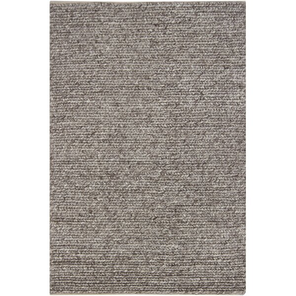 Tilby Hand-Woven Brown Area Rug by Birch Lane™