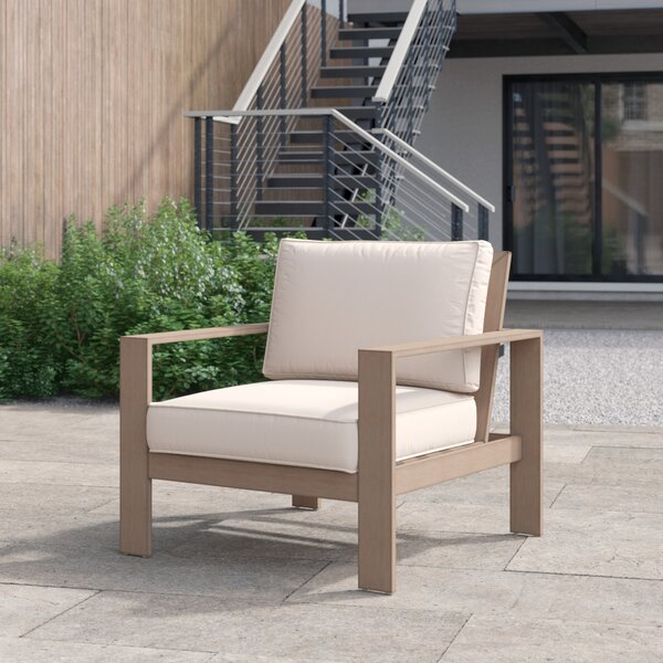 Daly Patio Chair with Cushions by Foundstone Foundstone