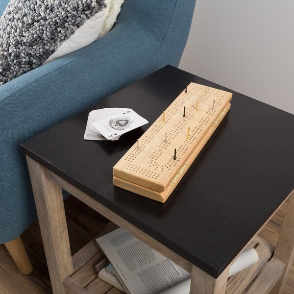 Wood Cribbage Board Game Set by Hey! Play!