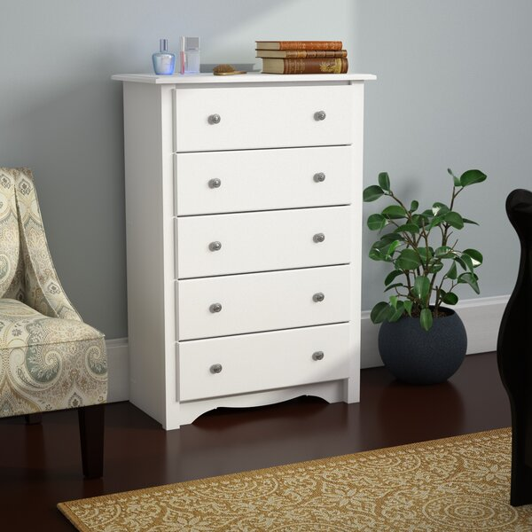 Hayman 5 Drawer Chest by Andover Mills