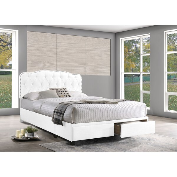 Grise Upholstered Storage Platform Bed by House of Hampton