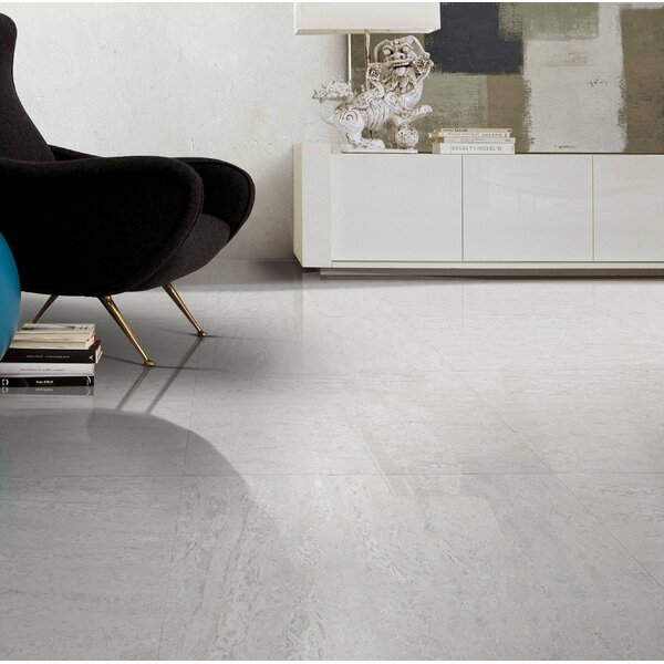 Navona Polished Porcelain Field Tile in Gray by Multile