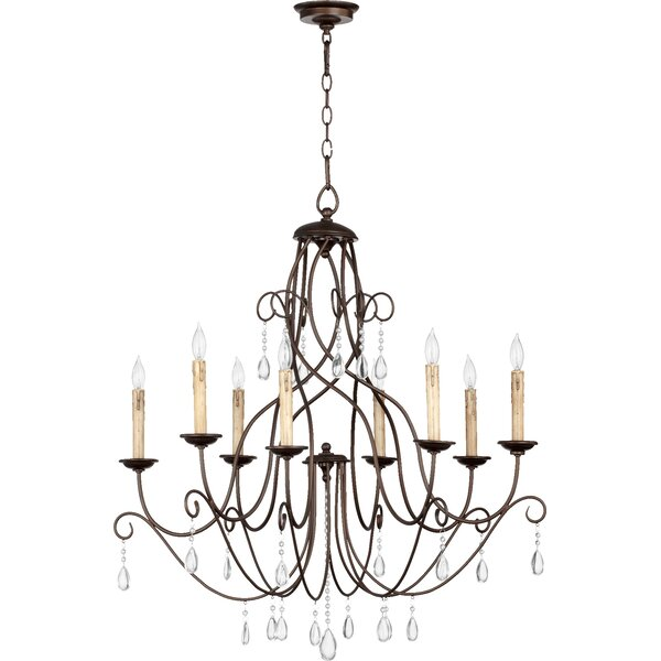 Madeira 8-Light Candle Style Empire Chandelier By House Of Hampton