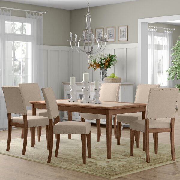Kennemer 7 Piece Dining Set by Three Posts
