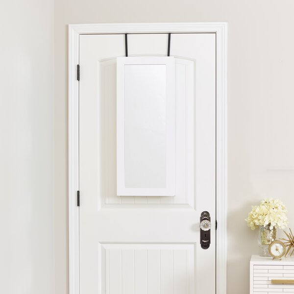 Space Saver Over the Door Jewelry Armoire with Mirror by InnerSpace Luxury Products