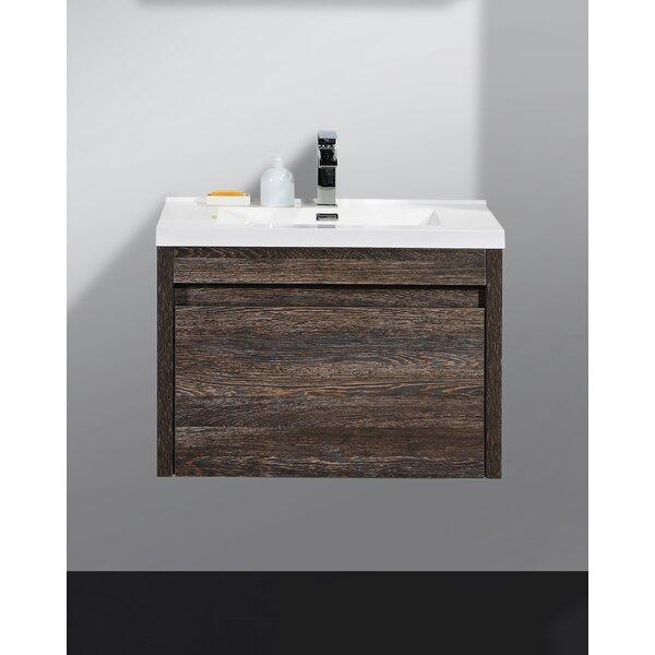Rosas Modern 30 Single Bathroom Vanity Set by Wrou