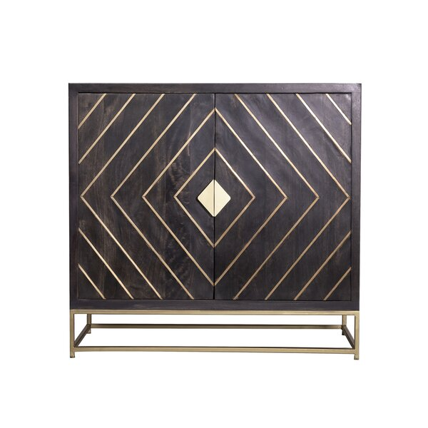Abou 2 Door Accent Cabinet by Wrought Studio