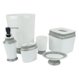 Bathroom Accessories Grey grey & yellow bathroom accessories you'll love   wayfair