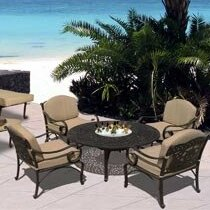Maravilla 5 Piece Dining Set By Art Frame Direct