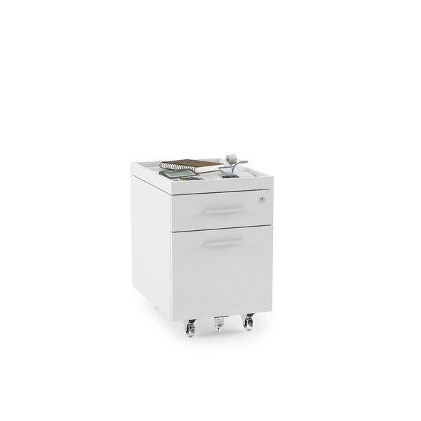 Centro 2 -Drawer Mobile File Pedestal by BDI