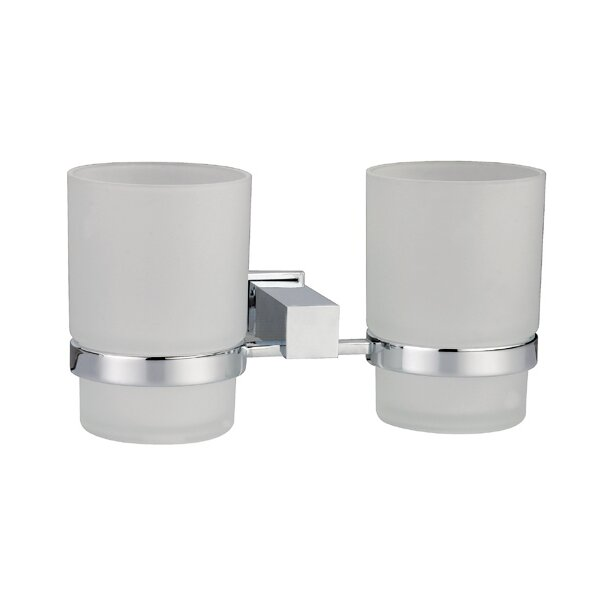 Square Series Tumblers and Tumbler Holder by Dawn USA