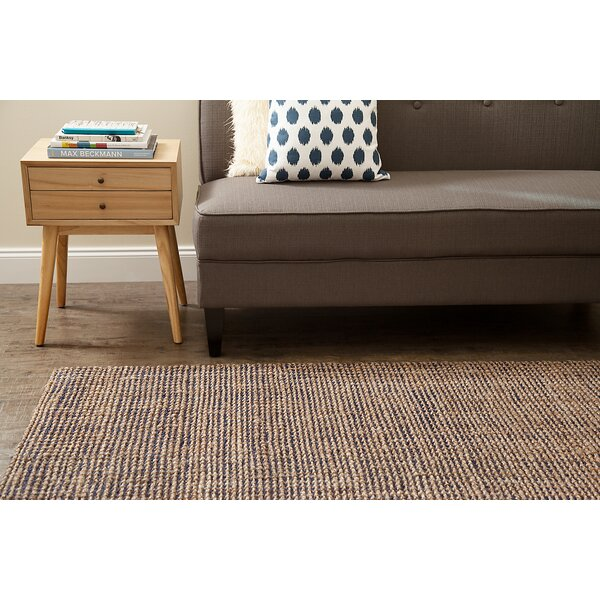 Godfrey Hand-Woven Tan Area Rug by Birch Lane™