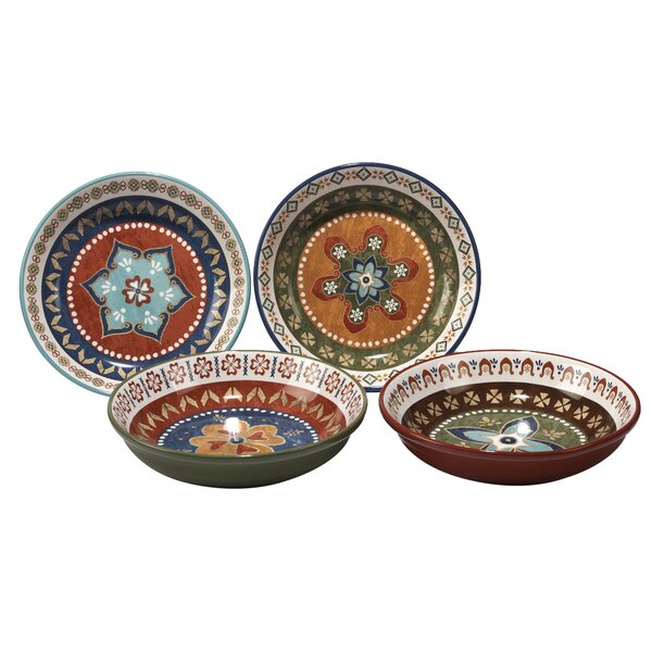 Brimson 4 Piece Pasta Bowl Set by World Menagerie