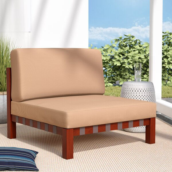 Elsmere Armless Chair by Beachcrest Home