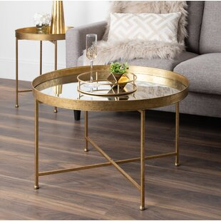 Kriebel Metal Foldable Lift Top Coffee Table