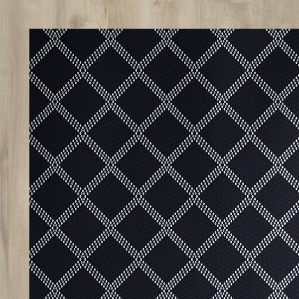 Bernadette Blue Indoor/Outdoor Area Rug by Ebern Designs