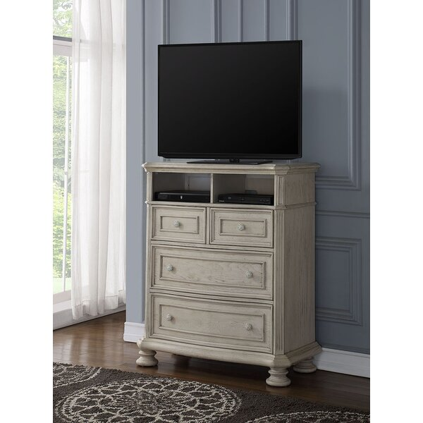 Free Shipping Piland 4 Drawer Media Chest