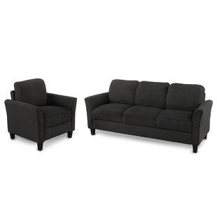 2 Pieces Sofa Set by Winston Porter