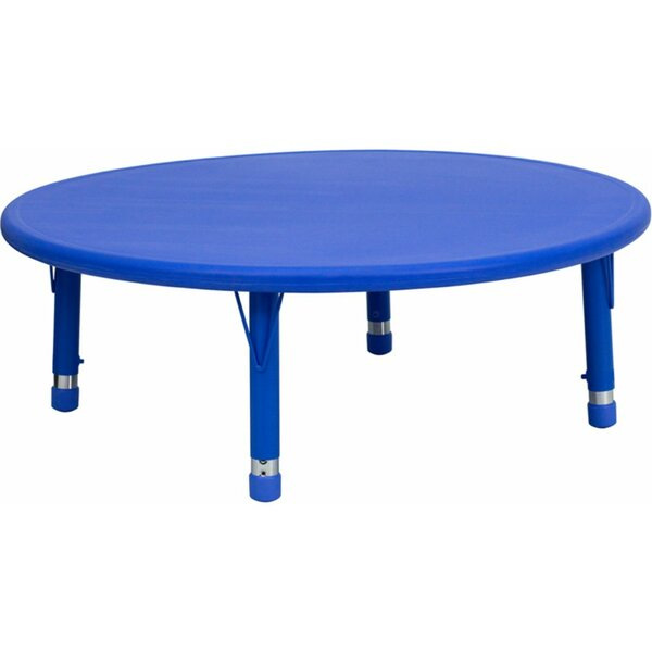 Height Adjustable 45'' Circular Activity Table by Offex