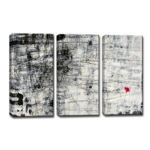 'Forgiven' by Norman Wyatt Jr. 3 Piece Painting Print Wrapped Canvas Set by Ready2hangart