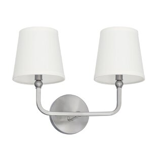 Affordable Climsland 2-Light Vanity Light By Three Posts