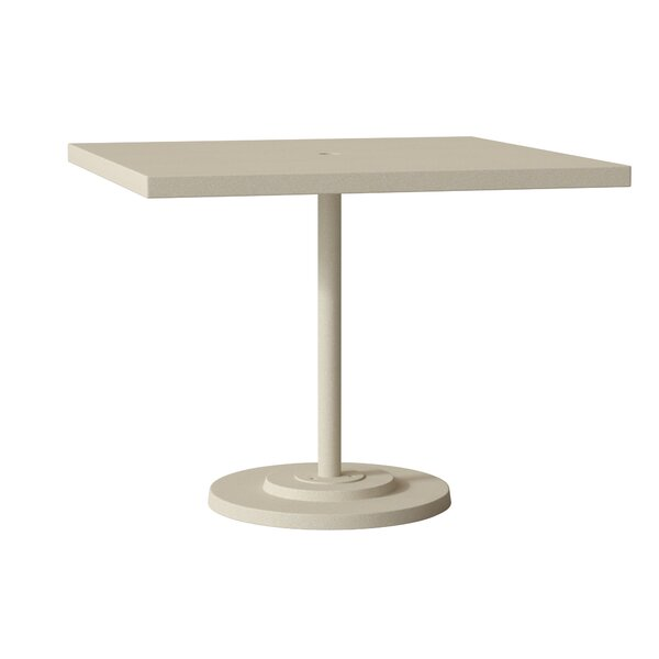 Ion Metal Dining Table by Tropitone